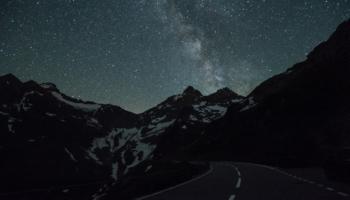 Milchstraße Sustenpass