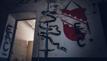 Die verlassene Kaserne im Elsaß 025