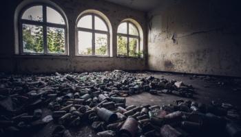 Die verlassene Kaserne im Elsaß 059
